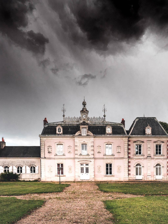 Château de l'Aulée an der Loire in Frankreich