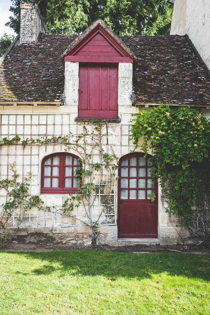 Gärtnerei Schloss Chateau de Chenonceau Rundreise entlang der Loire in Frankreich