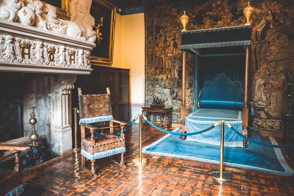 Schloss Chateau de Chenonceau Rundreise entlang der Loire in Frankreich