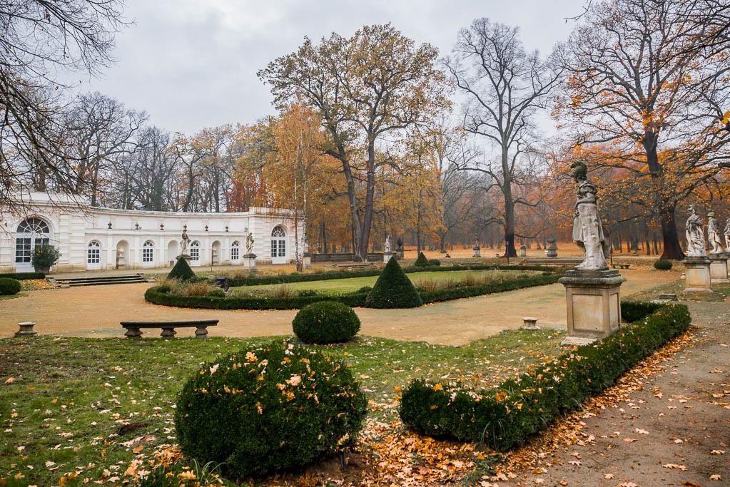 Schlosspark Wiepersdorf Dahme Mark Brandenburg