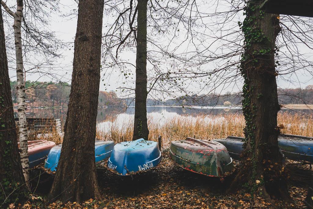 Boote Siethener See Ludwigsfelde Brandenburg