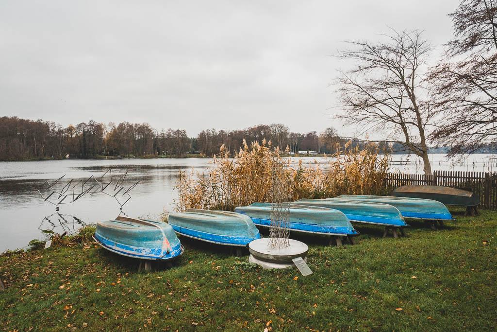 Boote Skulpturenpark Kloster Lehnin Brandenburg