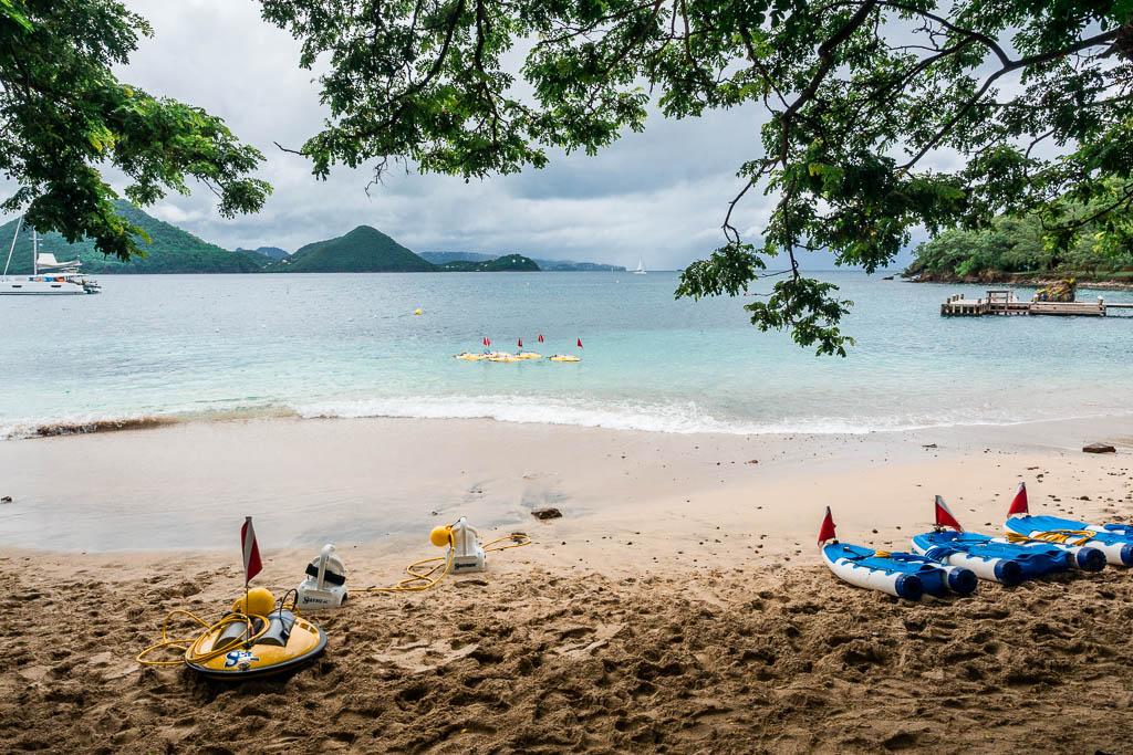 Snuba-Diving auf Pigeon Island Saint Lucia