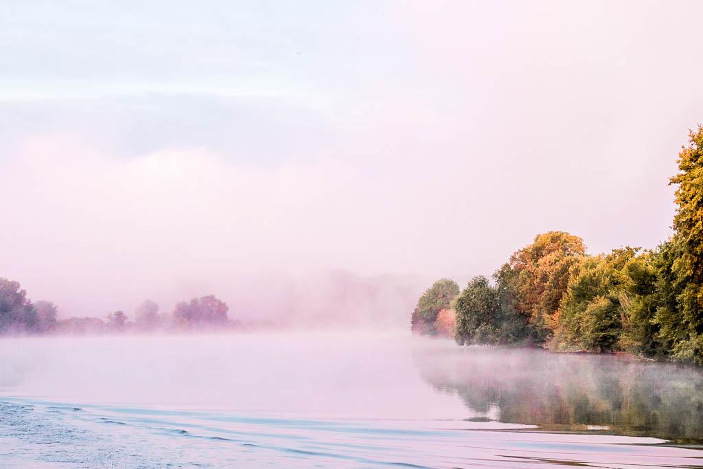 Sonnenaufgang Seine Flusskreuzfahrt A-ROSA