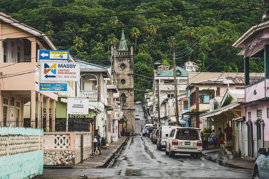 Soufriere Saint Lucia