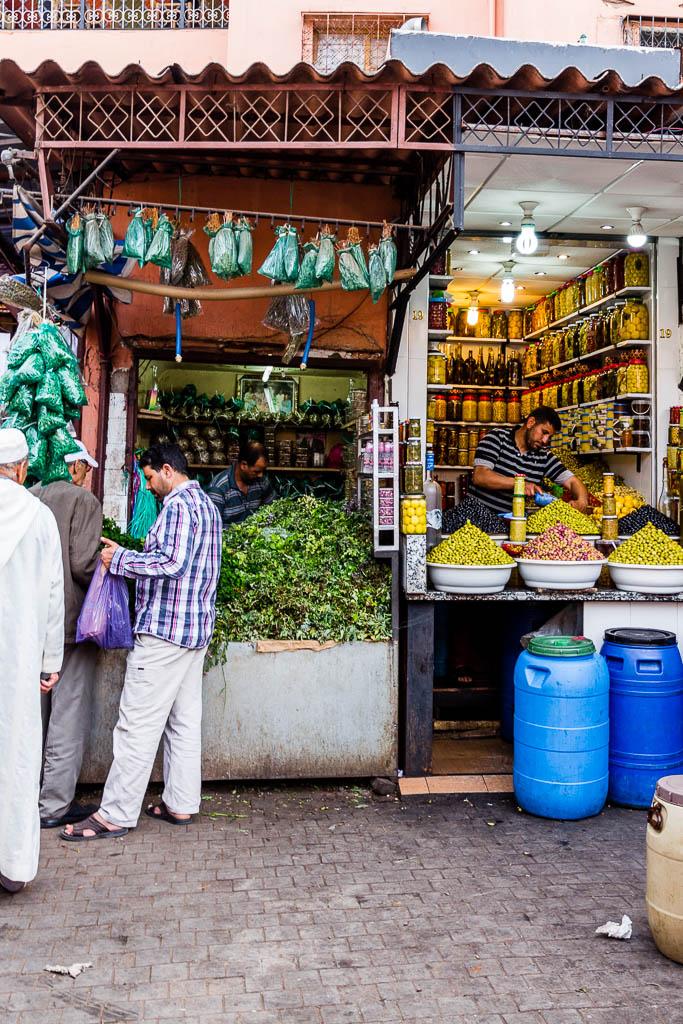 Geschäft Souk Marrakesch