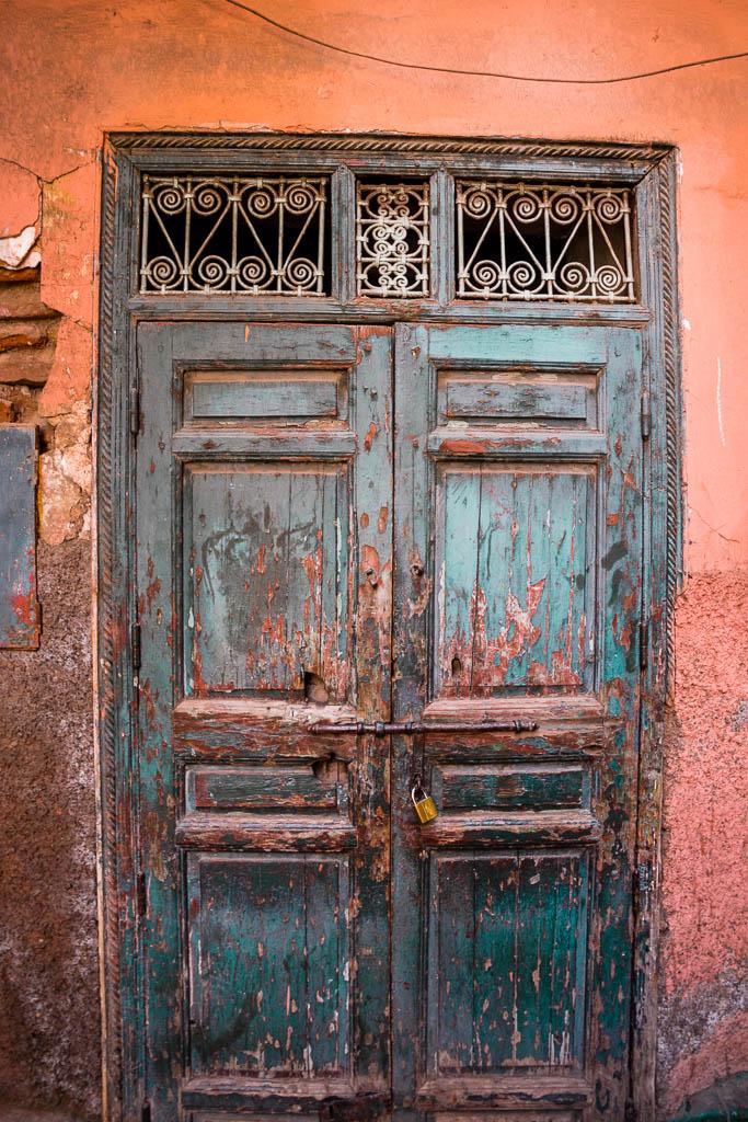 Tür Souk Marrakesch