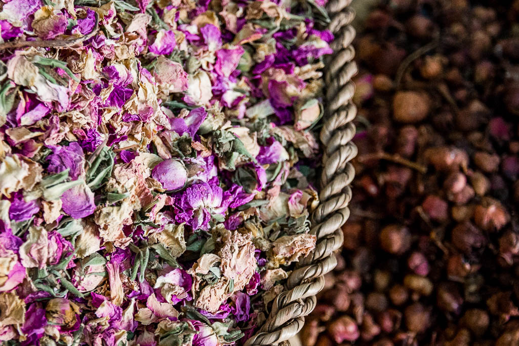 Blumen Souk Marrakesch