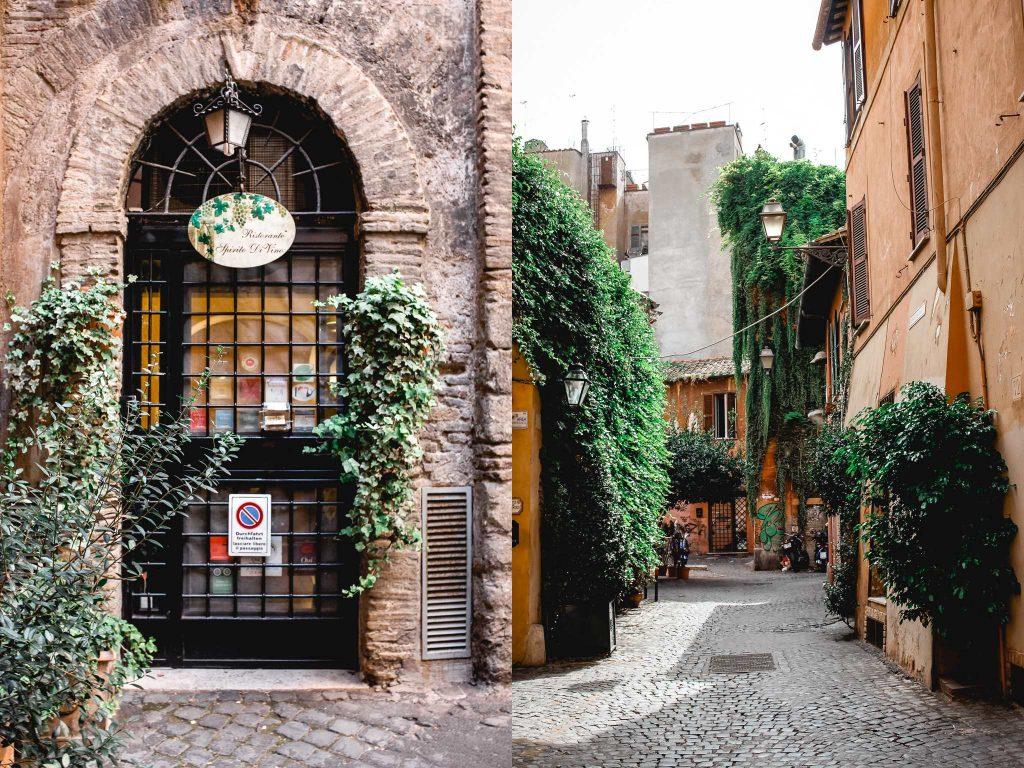 Spirito diVino Restaurant Tipps Rom Trastevere