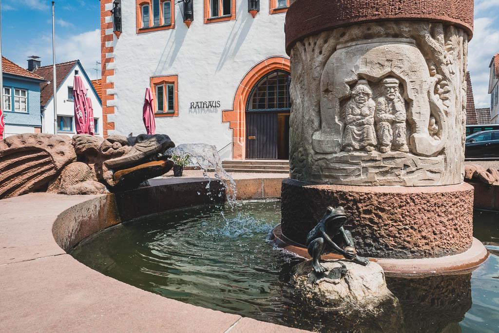 Märchenbrunnen Steinau an der Straße im Spessart