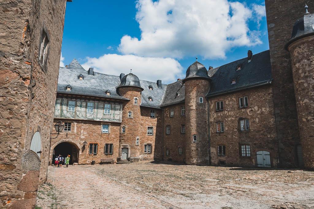 Schloss Steinau im Spessart