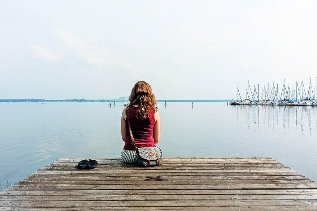 Ausflug ans Steinhuder Meer im Sommer