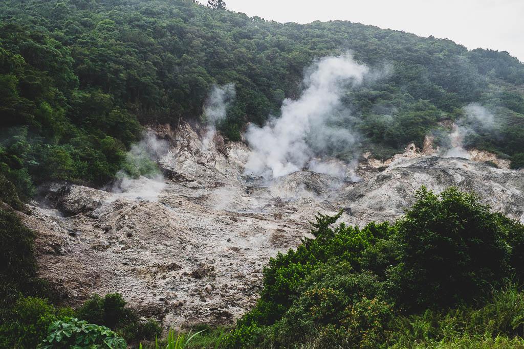 Vulkan Sulphur Springs Saint Lucia