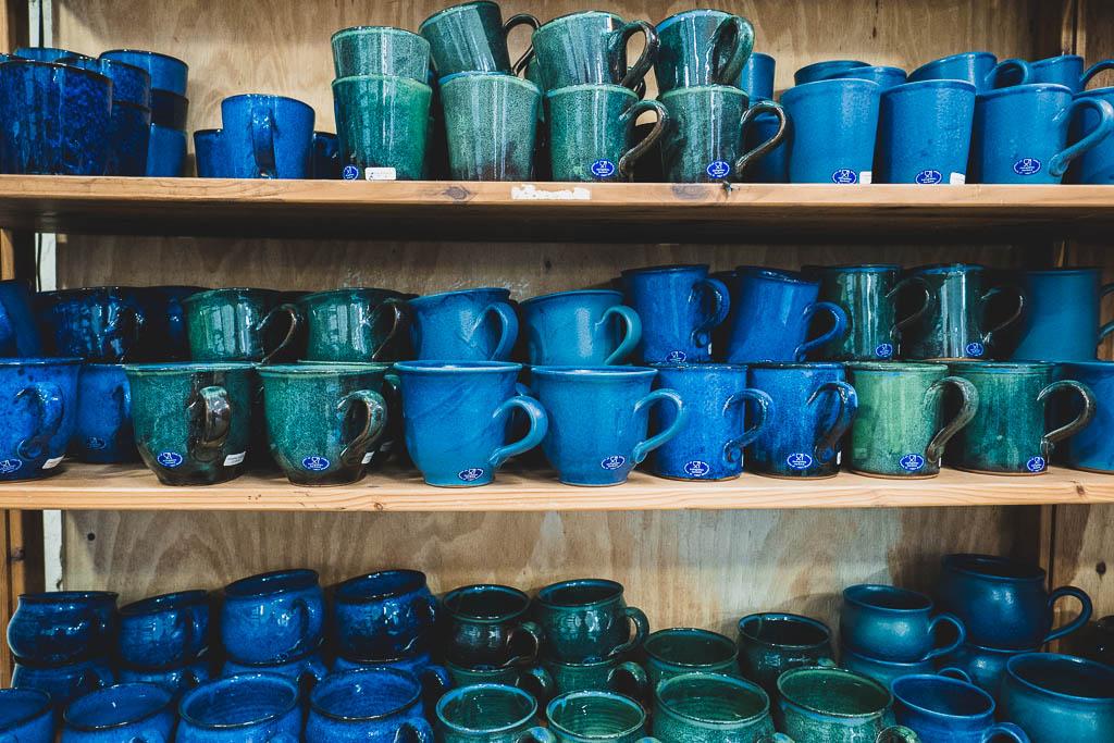 Keramik Töpferei Königsblau Schmerwitz Brandenburg