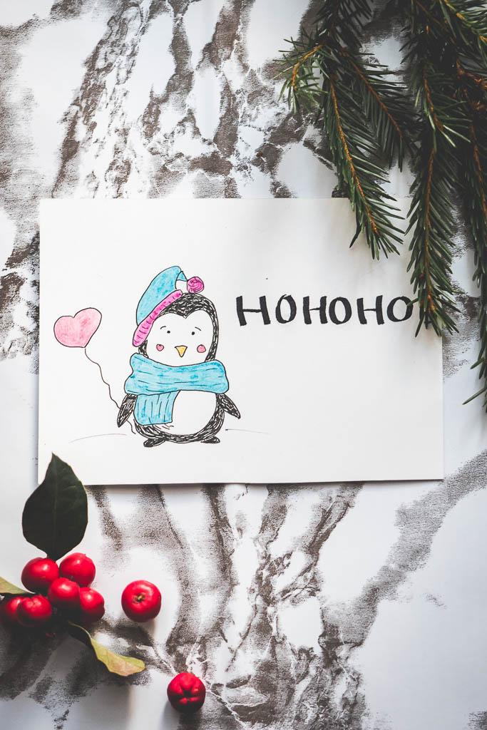 Weihanchtskarten und Anhänger für Weihnachten basteln (DIY)