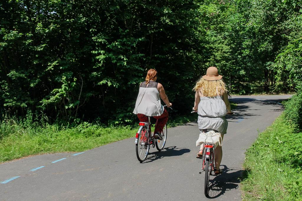 """Fahrradtour über die """"Flaeming-Skate"""" Luckenwalde Urlaub in Brandenburg"""
