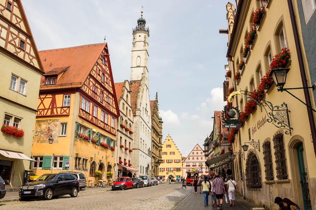 Rothenburg ob der Tauber Flusskreuzfahrt Main-Donau-Kanal: Von Passau nach Frankfurt am Main mit der MS BELVEDERE