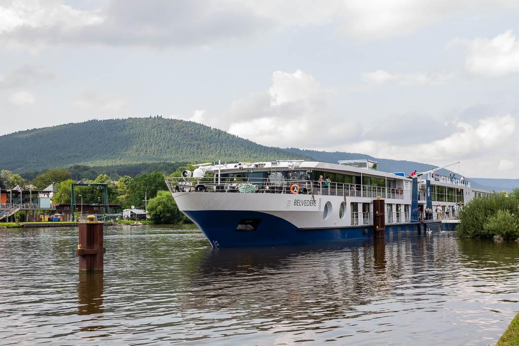 Flusskreuzfahrt Main-Donau-Kanal: Von Passau nach Frankfurt am Main mit der MS BELVEDERE