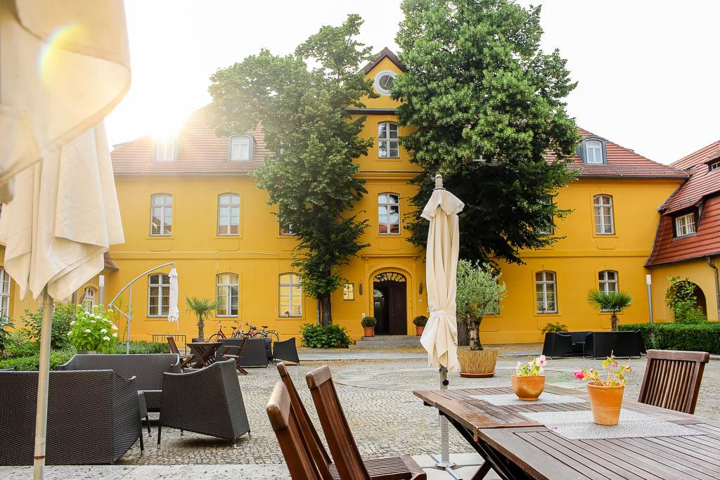 """Abendessen im Restaurant """"Vier"""" Luckenwalde Urlaub in Brandenburg"""