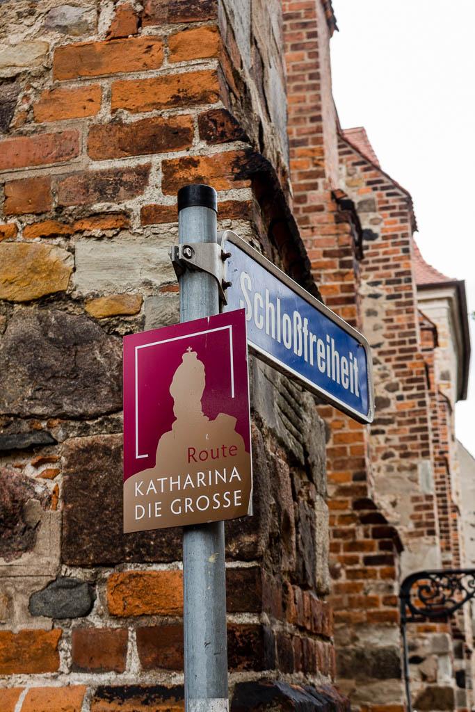 Katharina Route in Zerbst Sachsen-Anhalt
