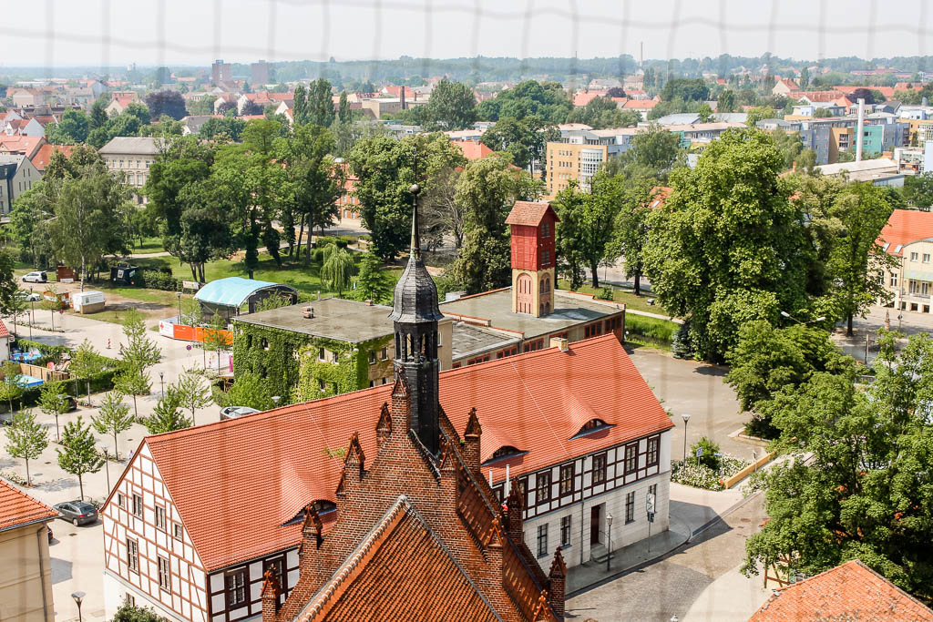 Marktturm Luckenwalde Urlaub in Brandenburg