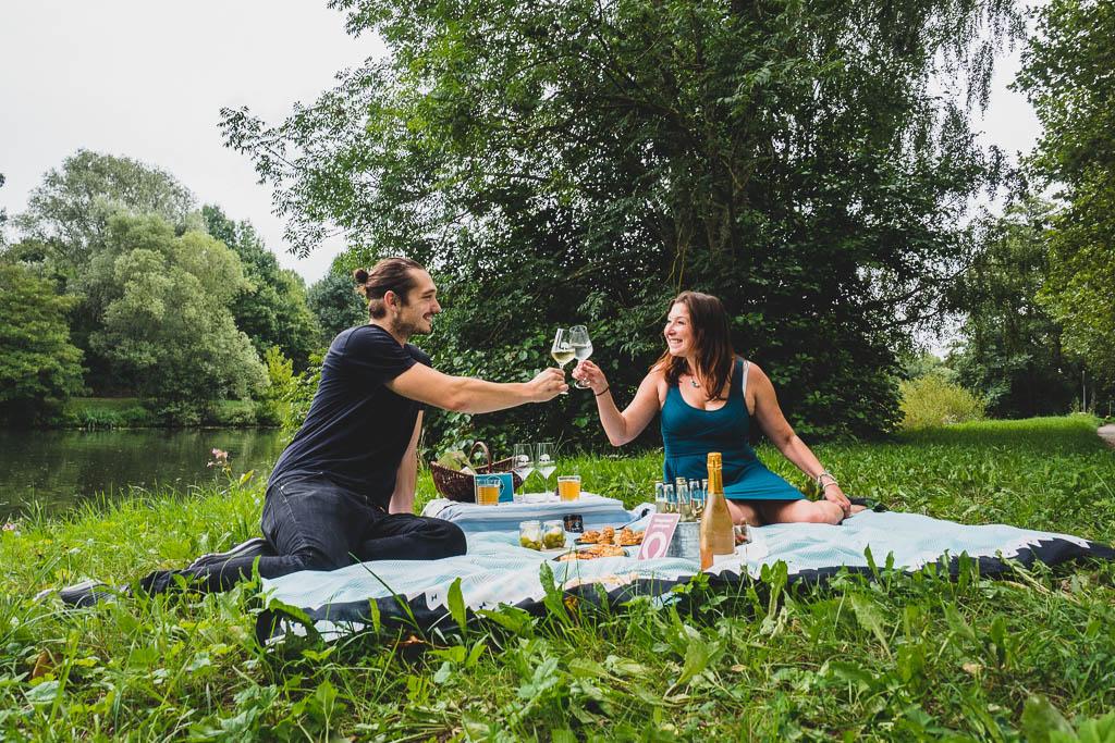 Picknick an der Saar ein kulinarisches Wochenende im Saarland