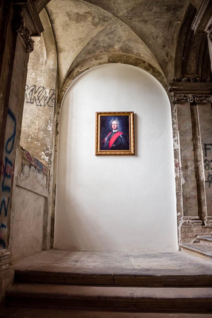 Schlossbesichtigung im lost Place Schloss Zerbst Sachsen-Anhalt