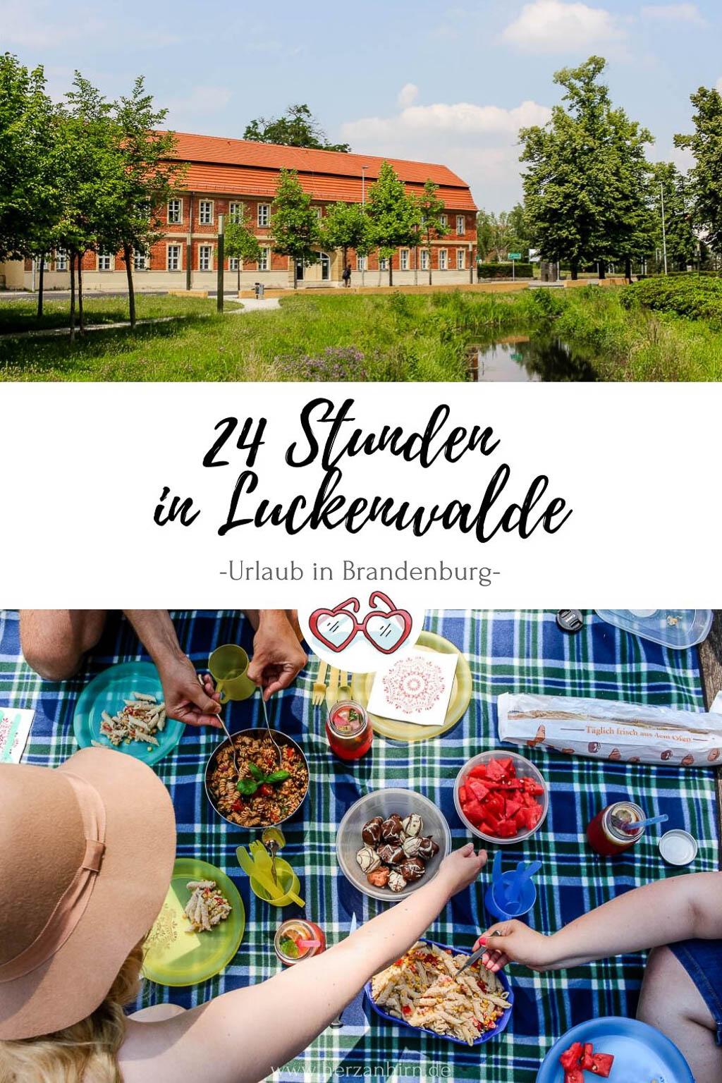 Urlaub Luckenwalde Pinterest Grafik