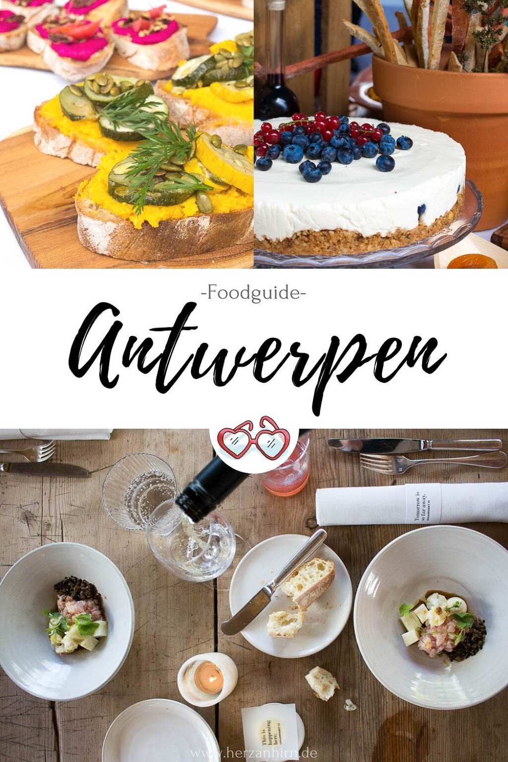 Restaurant-Tipps Antwerpen Pinterest Grafik