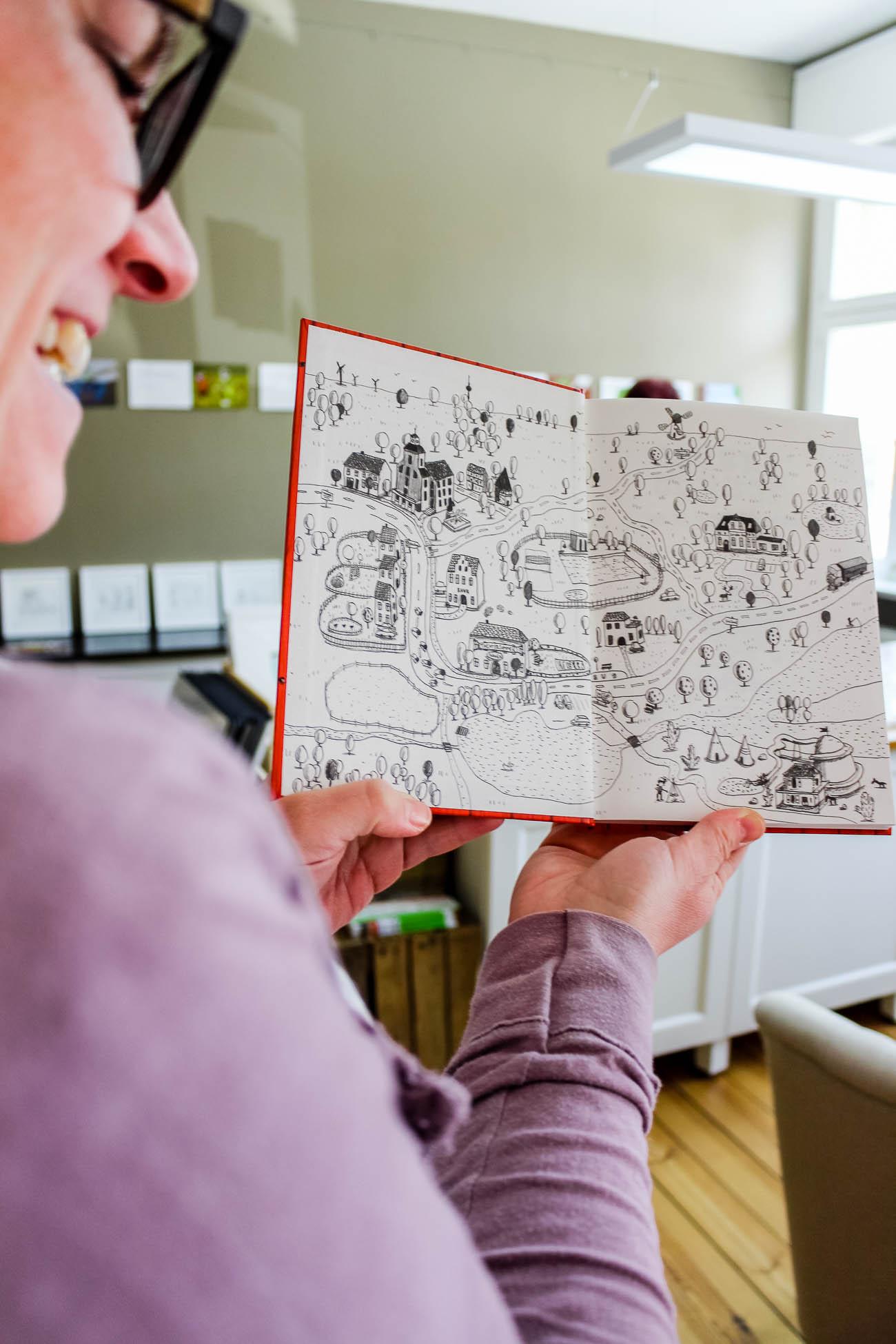 Atelier für Illustratives in Treuenbrietzen Tag der offenen Höfe in der Nuthe-Nieplitz Region im Fläming in Brandenburg