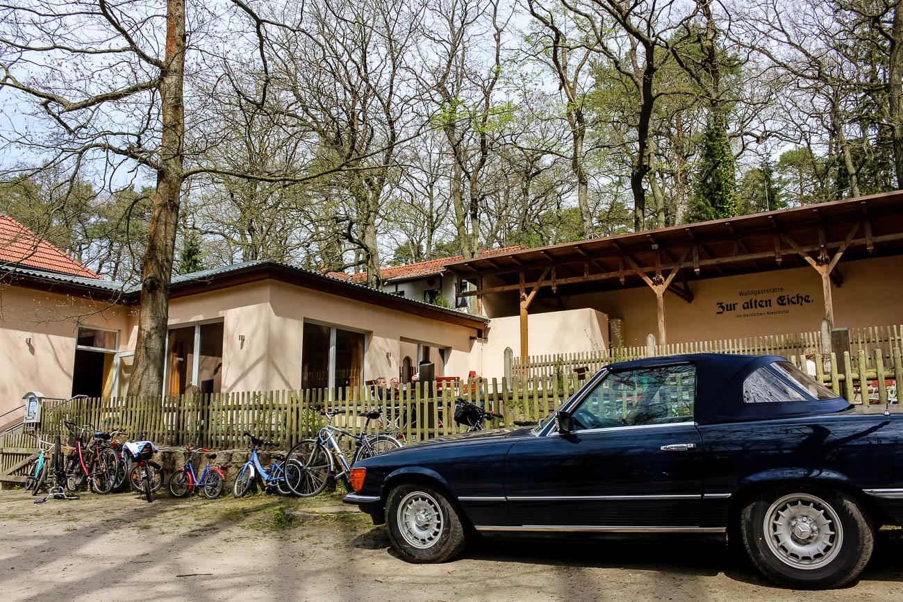 """Waldgaststätte """"Zur alten Eiche"""" in Frohnsdorf Tag der offenen Höfe in der Nuthe-Nieplitz Region im Fläming in Brandenburg"""