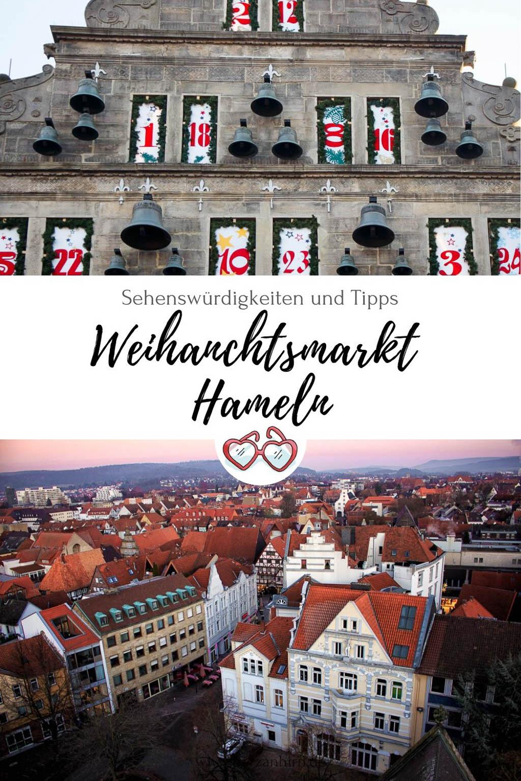 Weihnachtsmarkt Hameln Pinterest Grafik