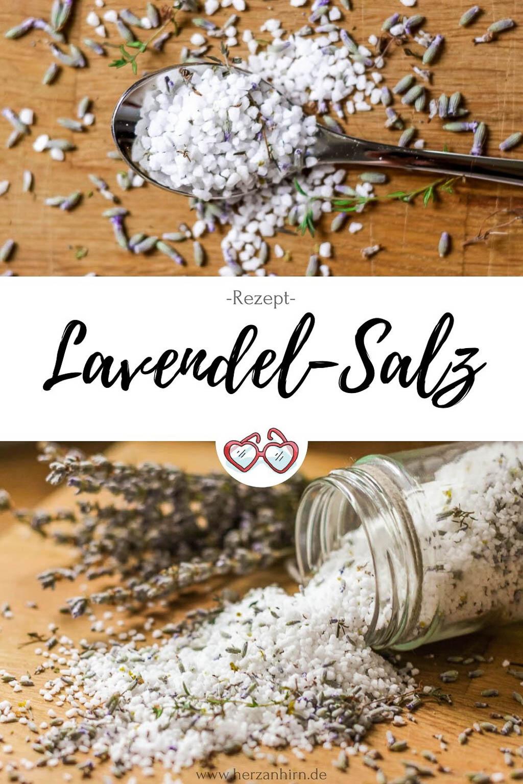 Lavendel Salz Pinterest Grafik