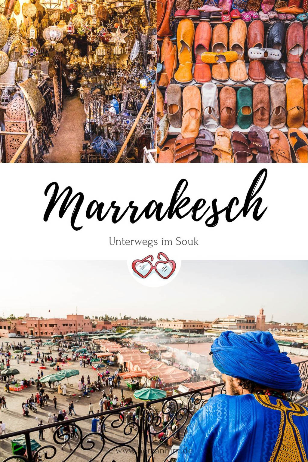 Marrakesch Pinterest Grafik