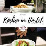 Kochen im Hostel Pinterest Grafik