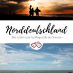 Norddeutschland Sommerurlaub Pinterest Grafik