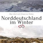 Norddeutschland im Winter Pinterest Grafik