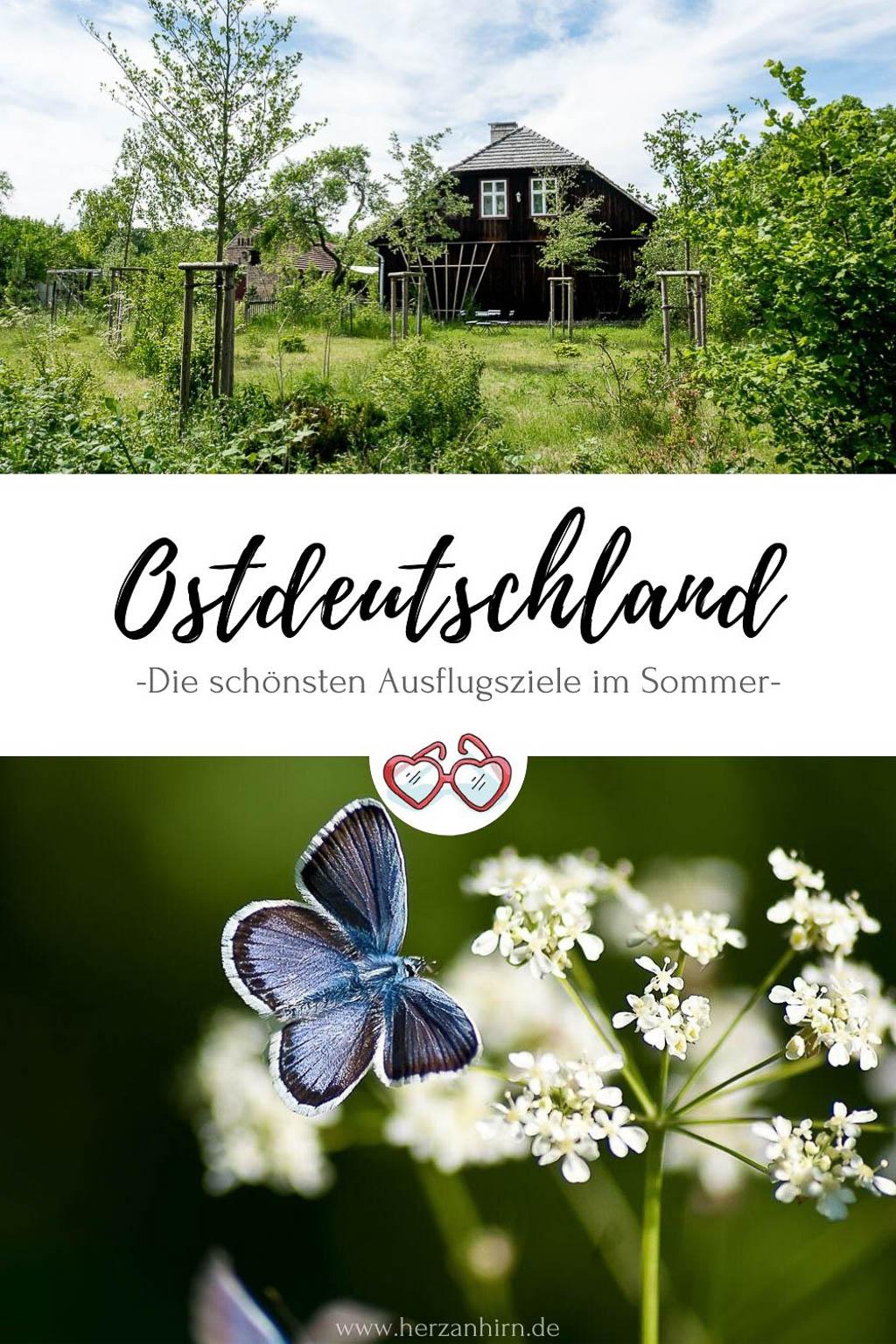 Ostdeutschland Reise Pinterest Grafik