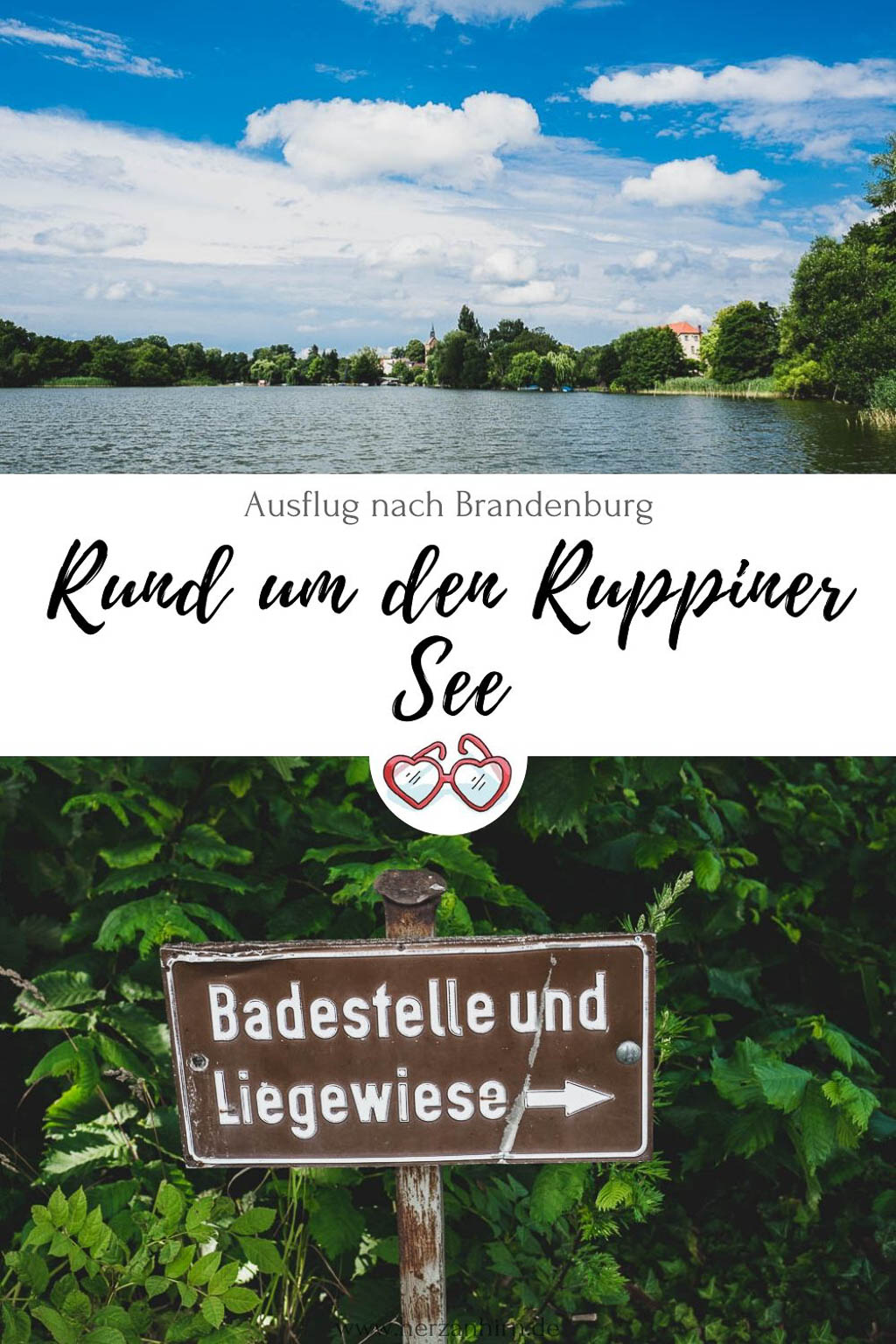 Ruppiner See Pinterest Grafik
