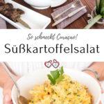 Süßkartoffelsalat Rezept Pinterest Grafik
