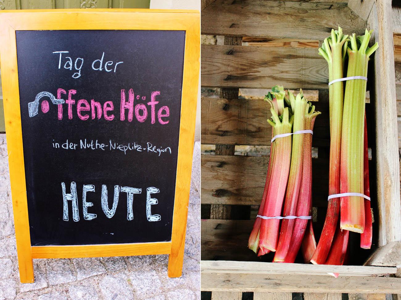 Tag der offenen Höfe in der Nuthe-Nieplitz Region im Fläming in Brandenburg