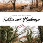 Trebbin und Blankensee Pinterest Grafik