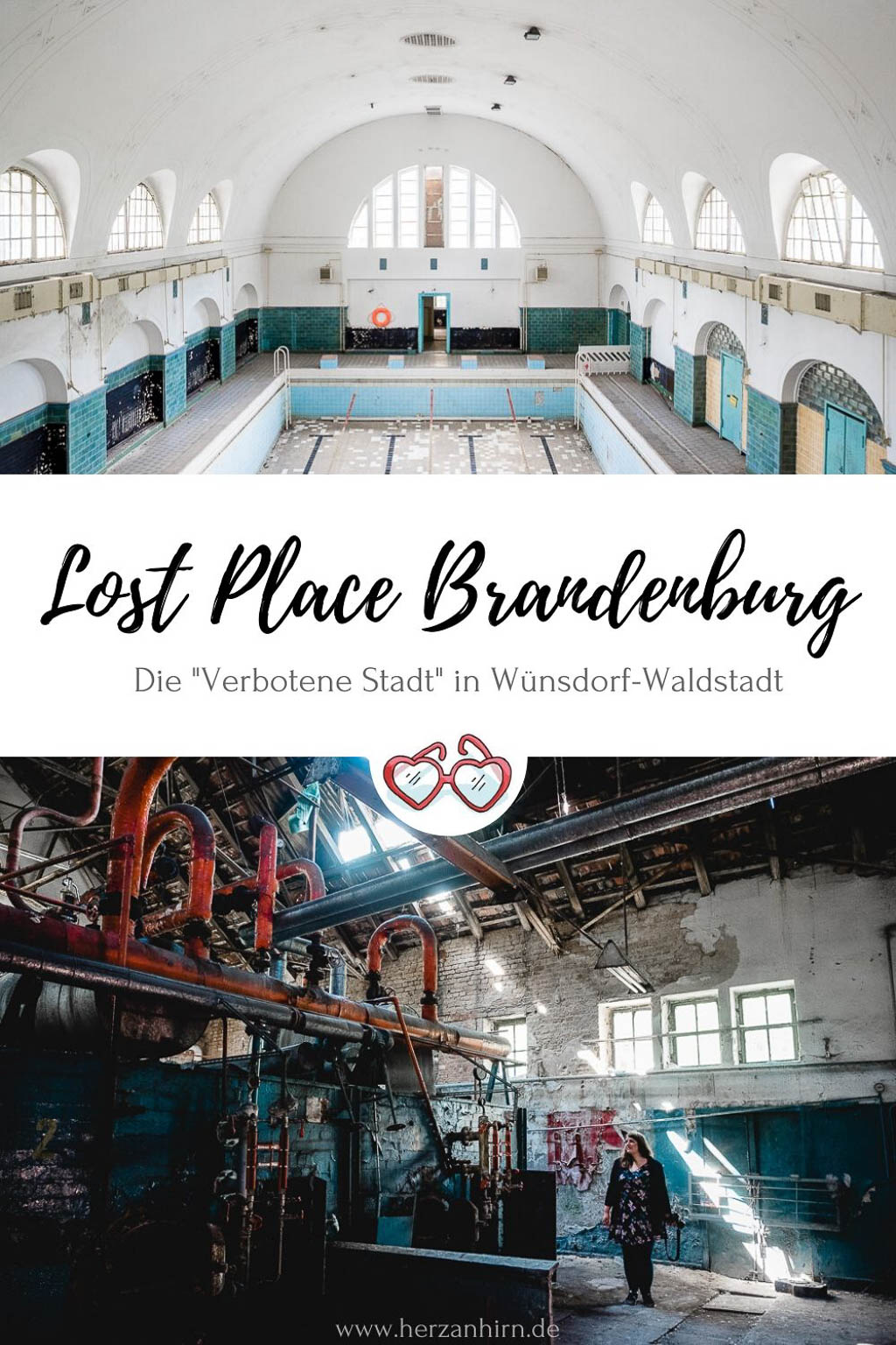 Lost Place Brandenburg Pinterest Grafik