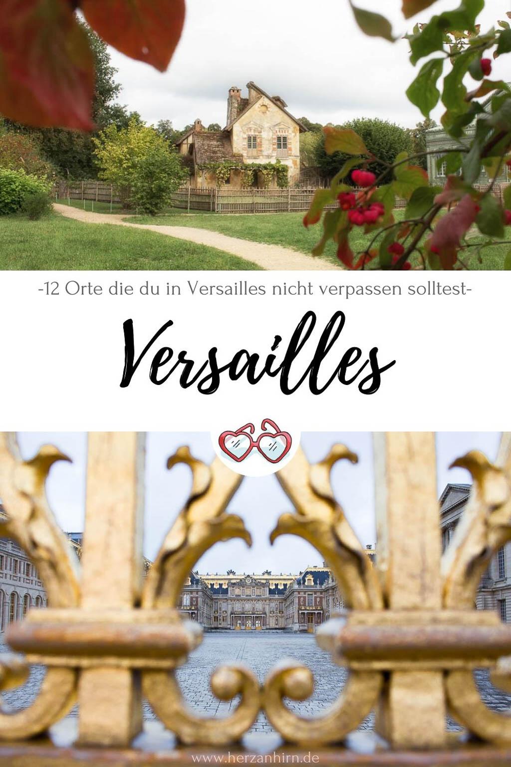 Versailles Pinterest Grafik
