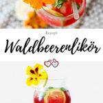 Waldbeerenlikör Rezept Pinterest Grafik