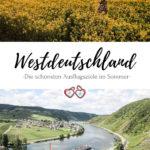 Westdeutschland Urlaub Pinterest Grafik