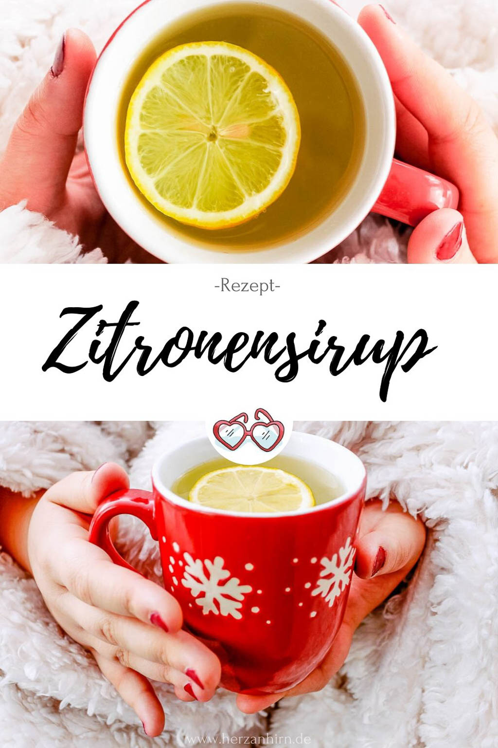 Zitronensirup Pinterest Grafik