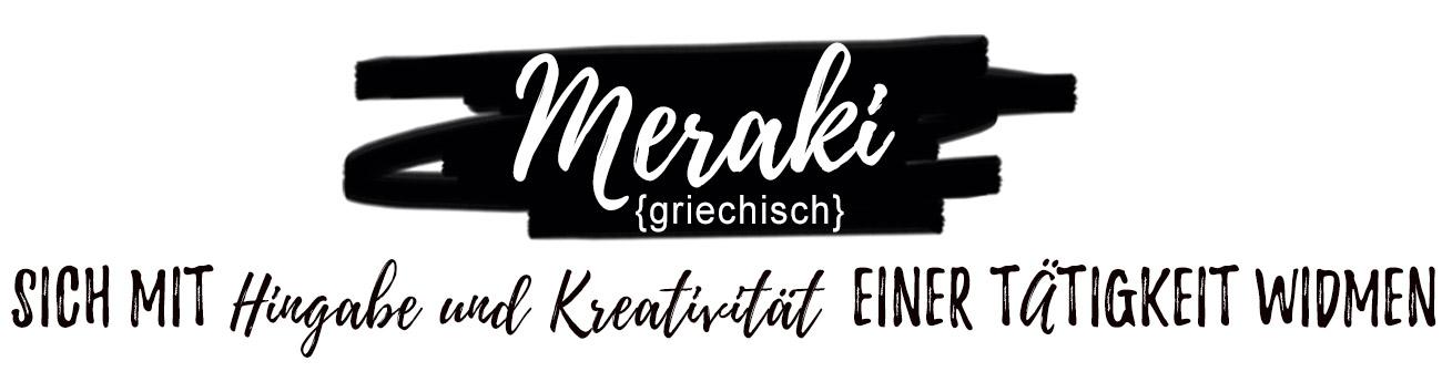 Bild Begriff Meraki - Bedeutung des Sprichwortes - Tablett Ansicht