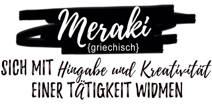 Bild Begriff Meraki - Bedeutung des Sprichwortes - Mobile Ansicht