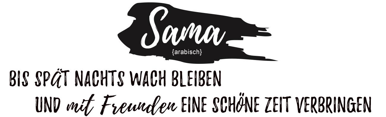 Bild Begriff Sama - Bedeutung des Sprichwortes - Desktopansicht